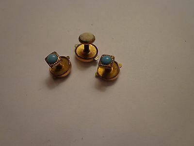 Antique Victorian Snap On Pin Brooch Tac Lot