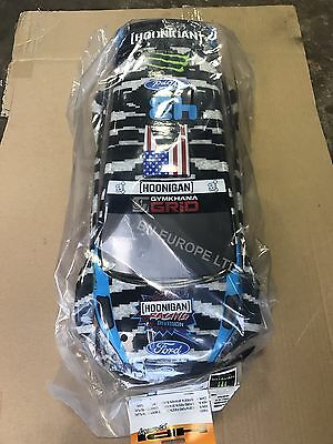 Hpi Ken Block Radio Control Rally Car Shell Wr8 Wrc Rare Limited Stock 1/8 Ford