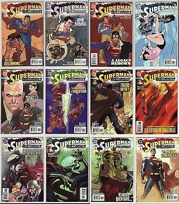 SUPERMAN BIRTHRIGHT 1 - 12: COMPLETE NM+ SERIES by MARK WAID