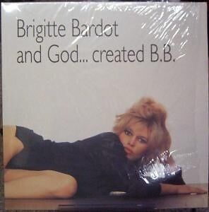 Brigitte Bardot And God ... Created B.B. NEAR MINT Hitland Vinyl LP