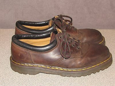 Dr Martens Brown Leather Oxford Shoes Men's Size 10 Made in England