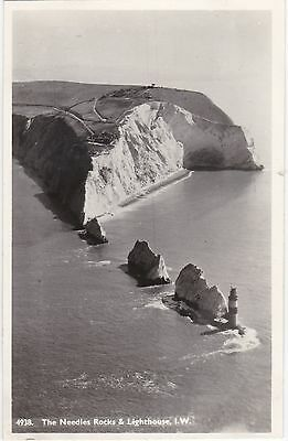 Aerial View, Rocks & Lighthouse, THE NEEDLES, Isle Of Wight RP