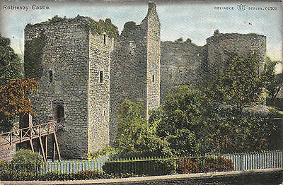 The Castle & Drawbridge, ROTHESAY, Island Of Bute