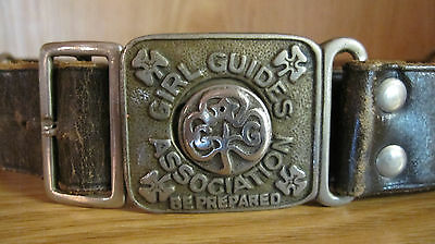 Girl Guides Association Belt Be Prepared - Girl Scouts Of United Kingdom