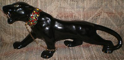 Vintage Black Panther 20 inches long
