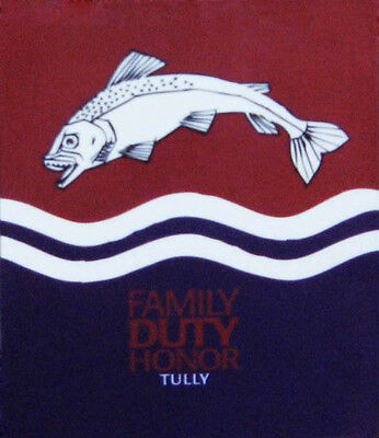 Official Game Of Thrones House Tully Magnet Trout Fish Sigil Family Duty Honor