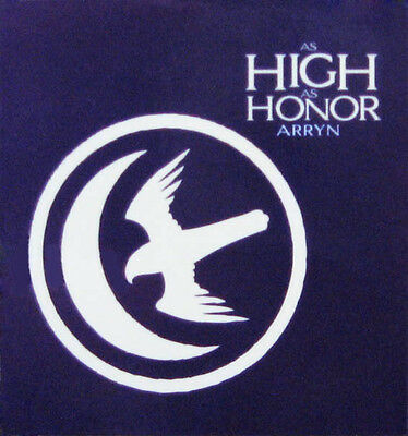 Official Game Of Thrones House Arryn Magnet Falcon Moon Sigil As High As Honor