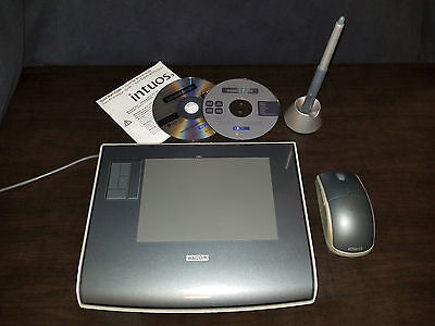 WACOM Intuos 3 4x6 Tablet PTZ-431W - including Pen, Mouse and USB tablet