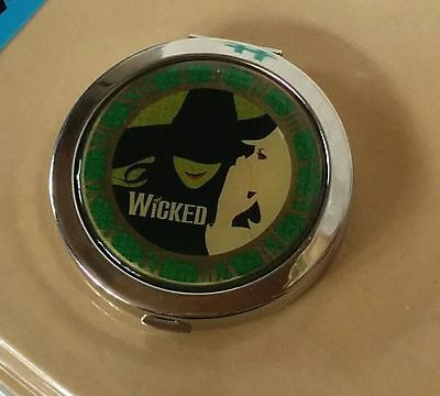 Japan Musical WICKED METALLIC COMPACT MIRROR /by Shiki Teatrical Company