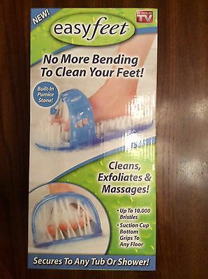 """Easyfeet Foot Scrubber Massages """"AS SEEN ON TV"""" New in BOX (1)"""