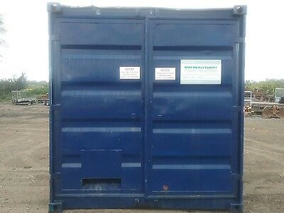 10FT x 8FT STEEL STORAGE SHIPPING CONTAINER