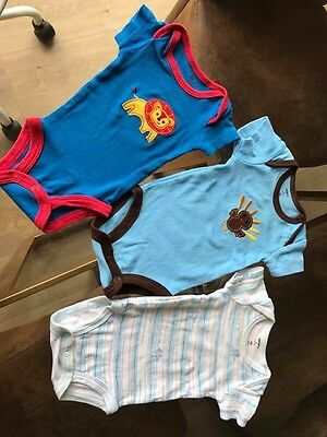 Carter's Baby Clothing One Piece Newborn Size - 3 Pieces Bundle