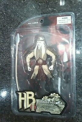 Hellboy 2 The Golden Army PRINCE NUADA Action Figure Mezco SERIES 1 NEW