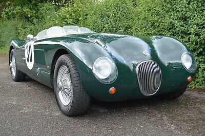 1961 Jaguar 'C' Type by Proteus with delightful patinated interior