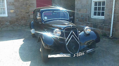 1939 Citroen Traction 7C with interesting WW2 History - New Price