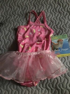 Infant Girl Swim Diaper Size Small/ 6 months 12-18 lbs