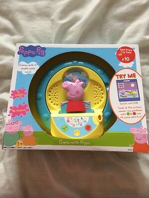 Brand New Peppa Pig Guessing Game