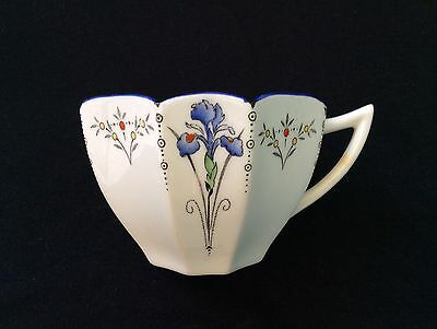 Shelley England Antique Art Deco Nouveau Fine China Tea Set