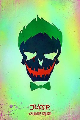 Suicide Squad The Joker - A4 Glossy Poster - Film Movie Free Shipping #73