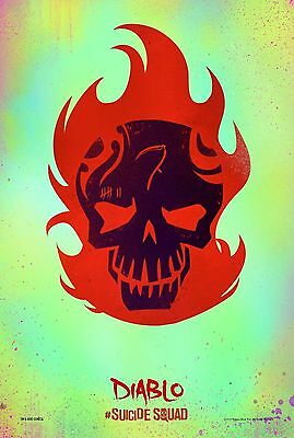 Suicide Squad Diablo - A4 Glossy Poster - Film Movie Free Shipping #77