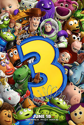 Toy Story 3 - A4 Glossy Poster - Film Movie Free Shipping #65