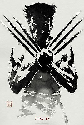 Wolverine - A4 Glossy Poster - Film Movie Free Shipping #70