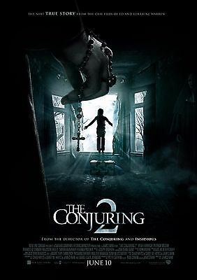 The Conjuring 2 - A4 Glossy Poster -TV Film Movie Free Shipping #341