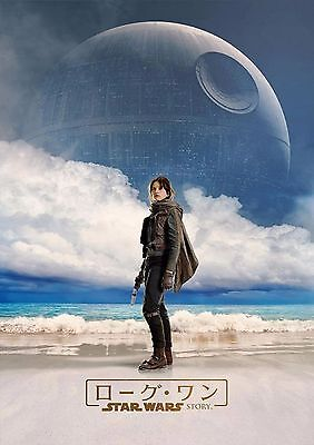 Star Wars Rogue One - A4 Glossy Poster -TV Film Movie Free Shipping #354