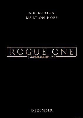Star Wars Rogue One - A4 Glossy Poster -TV Film Movie Free Shipping #345