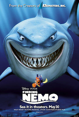Finding Nemo - A4 Glossy Poster - Film Movie Free Shipping #64