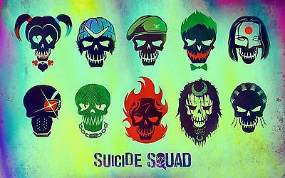 Suicide Squad - A4 Glossy Poster - Film Movie Free Shipping #79