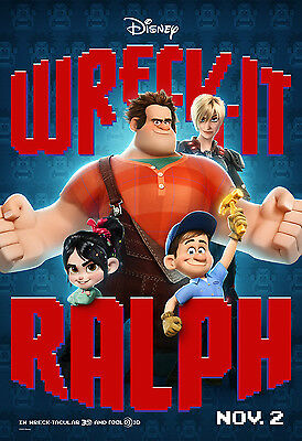 Wreck It Ralph - A4 Glossy Poster - Film Movie Free Shipping #62