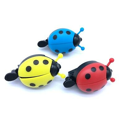 Cycling Bicycle Bike Beetle Ladybug Ring Cute Lovely Kid Bell Horn Alarm Ring