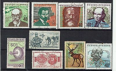 Czechoslovakia  Stamps  small used stamp mixed collection