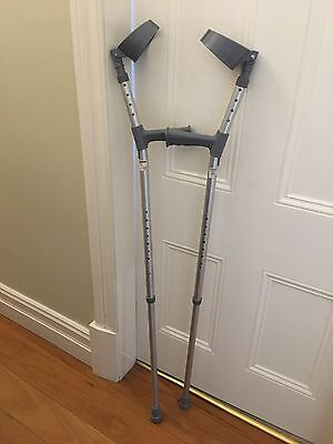 Coopers Double Adjustable Crutches  (Large)