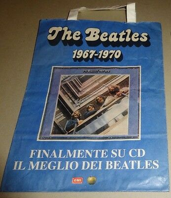 Beatles busta carta promo uscita in cd raccolta blu e rossa 1992