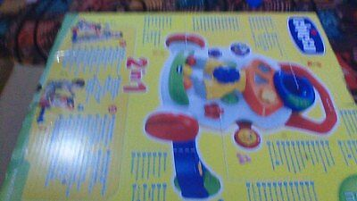 Chicco Baby Walker First Steps Activity 2 in 1 Push Educational Toy Girls Pink