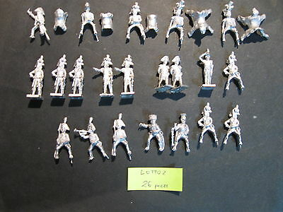 Lotto Soldatini MIRLITON 28 mm napoleonici tin toy soldiers