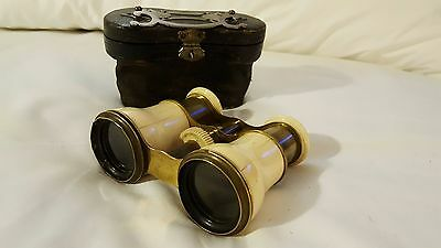 Vintage French Opera Glasses Binoculars Looks complete with box