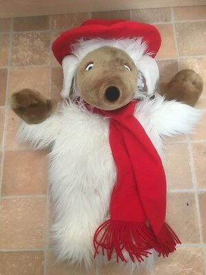 The Wombles Orinoco Water Bottle Boots Soft Plush Beanie