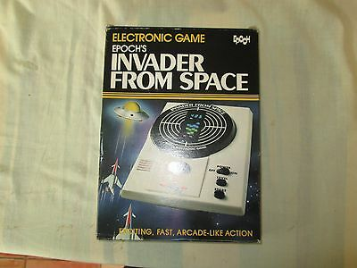 Epochs Invader from Space Electronic Game