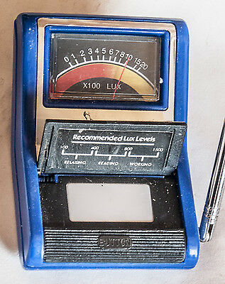 Quality Lux Meter (Light Meter) With Measuring Rod For Reading Distance Good Cnd