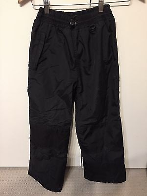 Black Kids Ski Snowboard Pants Size 8 - 10