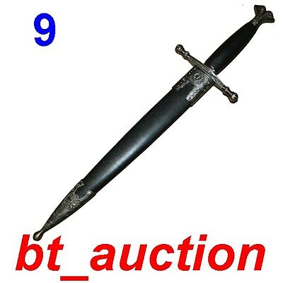 New Fantasy Medieval Crusader Knight Steel Sword (A609)7