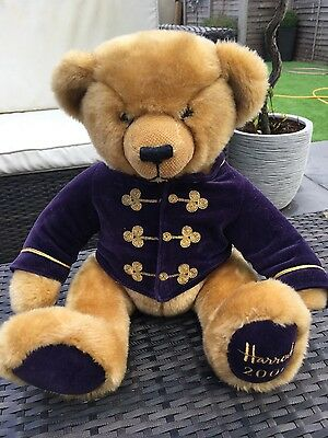 Harrods Bear Christmas 2000 13""