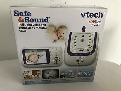 VTech Bm3100 Safe And Sound Video And Audio Baby Monitor