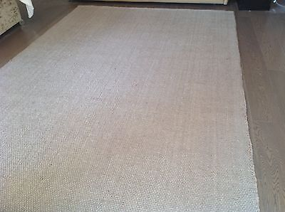 next wool rug taupe extra large excellent condition