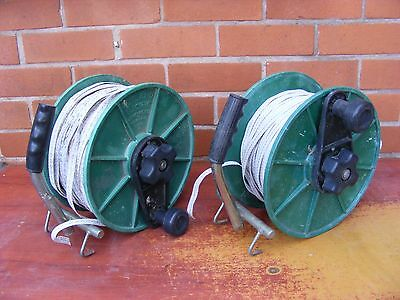 Electric Fence Tape 2 Rolls Of Electric Fencer Tape On Rutland Reels