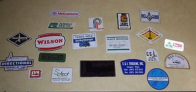 """Vintage Oilfield Stickers  From Early  80""""s"""