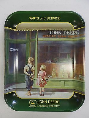 John Deere Parts And Service Tin Metal Serving Tray Wall Plaque A Friend In Need